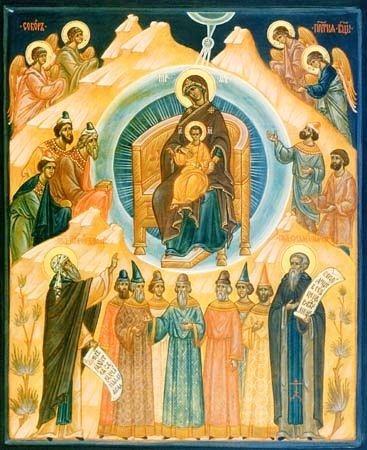 Собор пресвятой богородицы на следующий день после праздника рождества христова, 8 января по новому стилю
